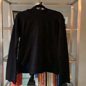 NWOT, Athleta Black Pullover Hoodie, Size Small